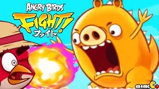 getlinkyoutube.com-Angry Birds Fight! - NEW GOLDEN KAIJUU MONSTER PIG BOSS BATTLE! iOS/iPad