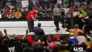 John Cena & HBK vs. Triple H & Shane McMahon 2/3 - 3/20/06