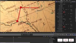 getlinkyoutube.com-Indiana Jones Travel Maps in Final Cut Pro X