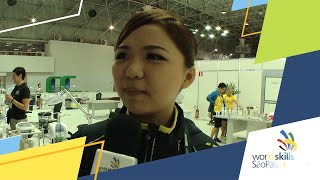 Chuah Zi Wen, WorldSkills Competitor from Malaysia