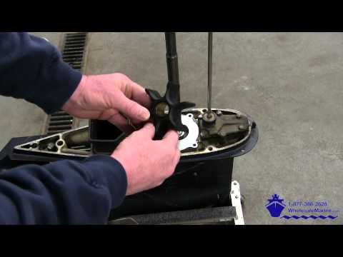 How to Replace the Water Pump on a Johnson Evinrude 85-300hp Outboard