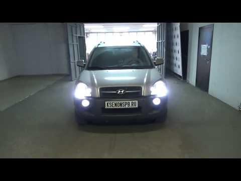 Hyundai Tucson I + BI LED + HPL Crosfire +HPL sunlicht +OSRAM F1