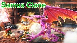 getlinkyoutube.com-Super Smash Bros Zero Samus Clone Battle: Samus Vs. Samus Mii (All HD)