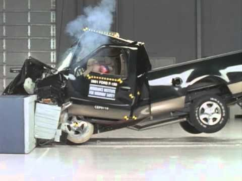 2001 Ford F-150 frontal offset test
