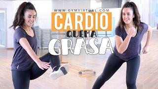 getlinkyoutube.com-Cardio para perder grasa | Cardio para principiantes 10 minutos