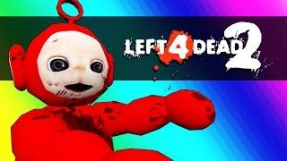 getlinkyoutube.com-Left 4 Dead 2 - Dinosaurs vs. Teletubbies! (Mods Funny Moments)