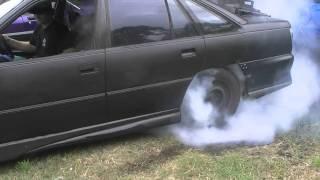 getlinkyoutube.com-How to Build A Burnout Car - VP Commodore V6.