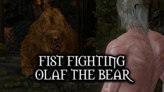 getlinkyoutube.com-The Witcher 3: Wild Hunt - Fist Fighting Olaf the Bear
