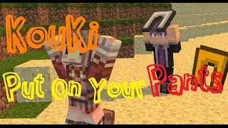 getlinkyoutube.com-Minecraft Animation【阿神給我穿上你的褲子!】 Kouki Put On Your Pants!
