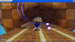 Sonic Adventure DX Sonic Generations mod   Green Hill Zone + Green Khil Zone Music and glitches