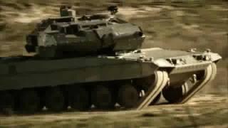 getlinkyoutube.com-2010 M1 Abrams vs Leopard 2 Tank Trailer [HD]