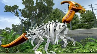 getlinkyoutube.com-LEGO Jurassic World - Custom Dinosaur Creator - Medium Size Dinosaurs