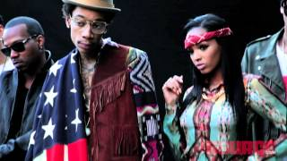 Wiz Khalifa & Taylor Gang's The Source Cover Photoshoot