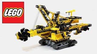 getlinkyoutube.com-Lego Technic Bucket Wheel Excavator (not a 42055 set) / Лего Техник Роторный Экскаватор ЭР-1250
