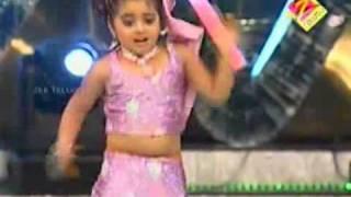 getlinkyoutube.com-Geethika Dance for Manasuna Unnadhi - AATA Juniors