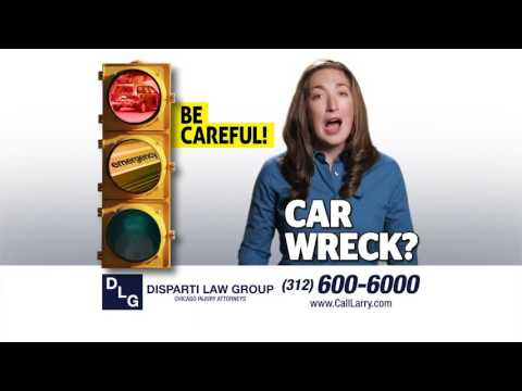 Injured in a Car Accident? STOP! Call Larry Disparti TODAY!