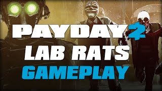 PAYDAY 2: Lab Rats - Halloween Heist Gameplay