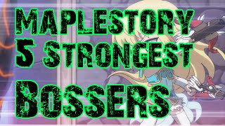 Maplestory - 5 Strongest Bossing Classes [2015]