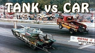 11 Unbelievable Crazy Drag Races in Automotive History