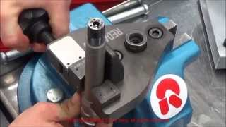 getlinkyoutube.com-Denso common rail injectors - Assembling and disassembling