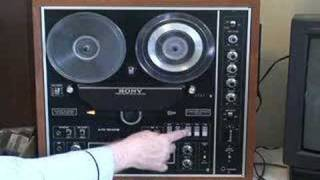 getlinkyoutube.com-Sony TC-730 Reel to Reel Tape Recorder