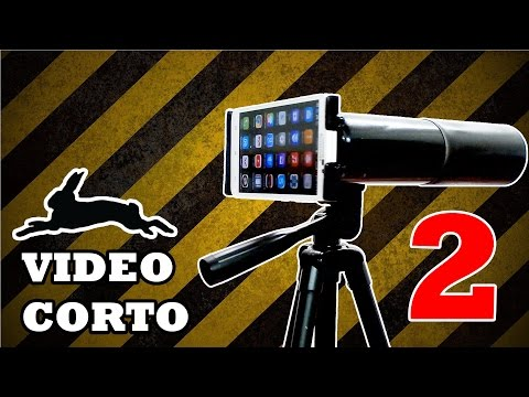 VIDEO CORTO - Super Linterna y Telescopio Casero - 2 en 1