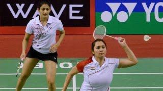 getlinkyoutube.com-Jwala Gutta and Ashwini Poppana lost their opening in Badminton doubles match at Rio | Oneindia News
