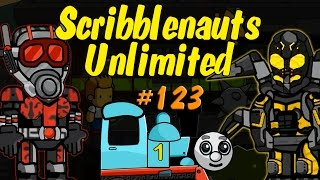 getlinkyoutube.com-Scribblenauts Unlimited 123 Ant Man & Yellow Jacket (and more) in Object Editor