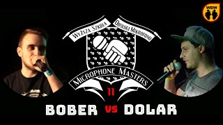 bitwa BOBER vs DOLAR # Microphone Masters XI # freestyle battle