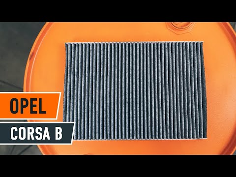 How to replace Pollen Filter on OPEL CORSA B TUTORIAL   AUTODOC