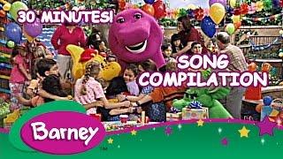 getlinkyoutube.com-Barney - Song Compilation (30 Minutes!)