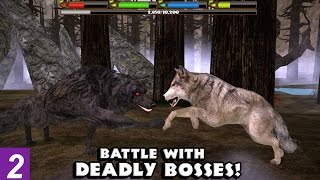 getlinkyoutube.com-ULTIMATE WOLF SIMULATOR - EPIC DEADLY BOSS FIGHTS --Compatible with iPhone, iPad, and iPod touch.