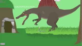 getlinkyoutube.com-happy wheels - Dinosaurios felices y Pikachus enfermos