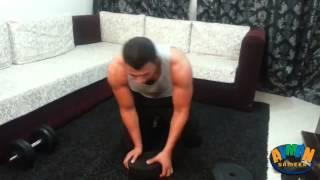 getlinkyoutube.com-تمرينات لضخامة عضلة الصدر فى المنزل بزوج من الدامبلز فقط