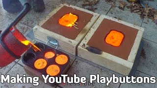 Making 'Gold' YouTube Playbutton width=
