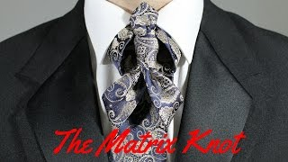 How To Tie a Tie - The Matrix Knot