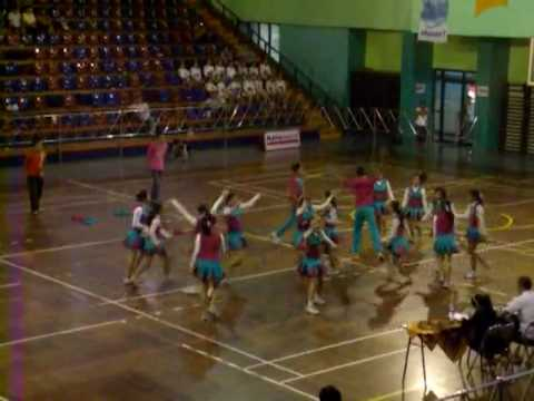 Tigers Cheerleading Team at tarlim cup (dance-) smp 161