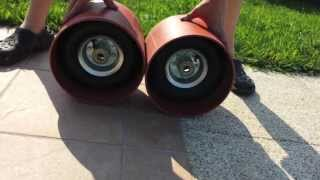 getlinkyoutube.com-COMO HACER LAS RUEDAS DE UN DRIFT TRIKE | David Lemos