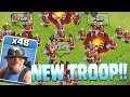 Clash Of Clans - NEW MINER TROOP!! Clash royale character!!