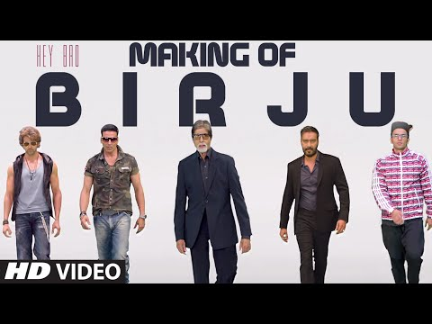 Making of Birju Video Song from Hey Bro