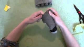 getlinkyoutube.com-Танк из носков - подарок мужчине