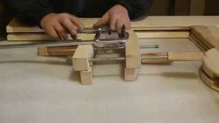 getlinkyoutube.com-Как делать классические столярные струбцины