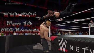 getlinkyoutube.com-WWE 2K16 - Top 10 - New Amazing OMG Moments - (PS4)