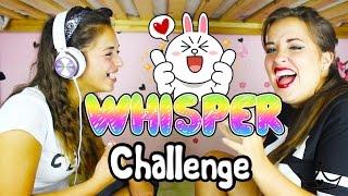 getlinkyoutube.com-Scleriamo con la WHISPER CHALLENGE!!