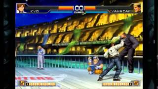 getlinkyoutube.com-The king of fighters 2002 UM Steam Combos Kyo