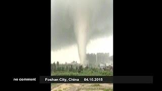getlinkyoutube.com-Tornados in China - no comment