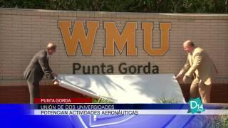 Unión de dos universidades potencian actividades aeronáuticas