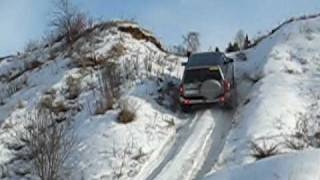 getlinkyoutube.com-Nissan Patrol snow offroad