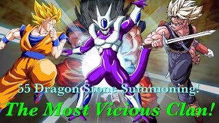 getlinkyoutube.com-Dokkan Battle: The Most Vicious Clan! 55 Dragon Stone Summoning! (G)