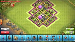 getlinkyoutube.com-| Clash of Clans | Villaggio con Municipio livello 7 (FARMING)